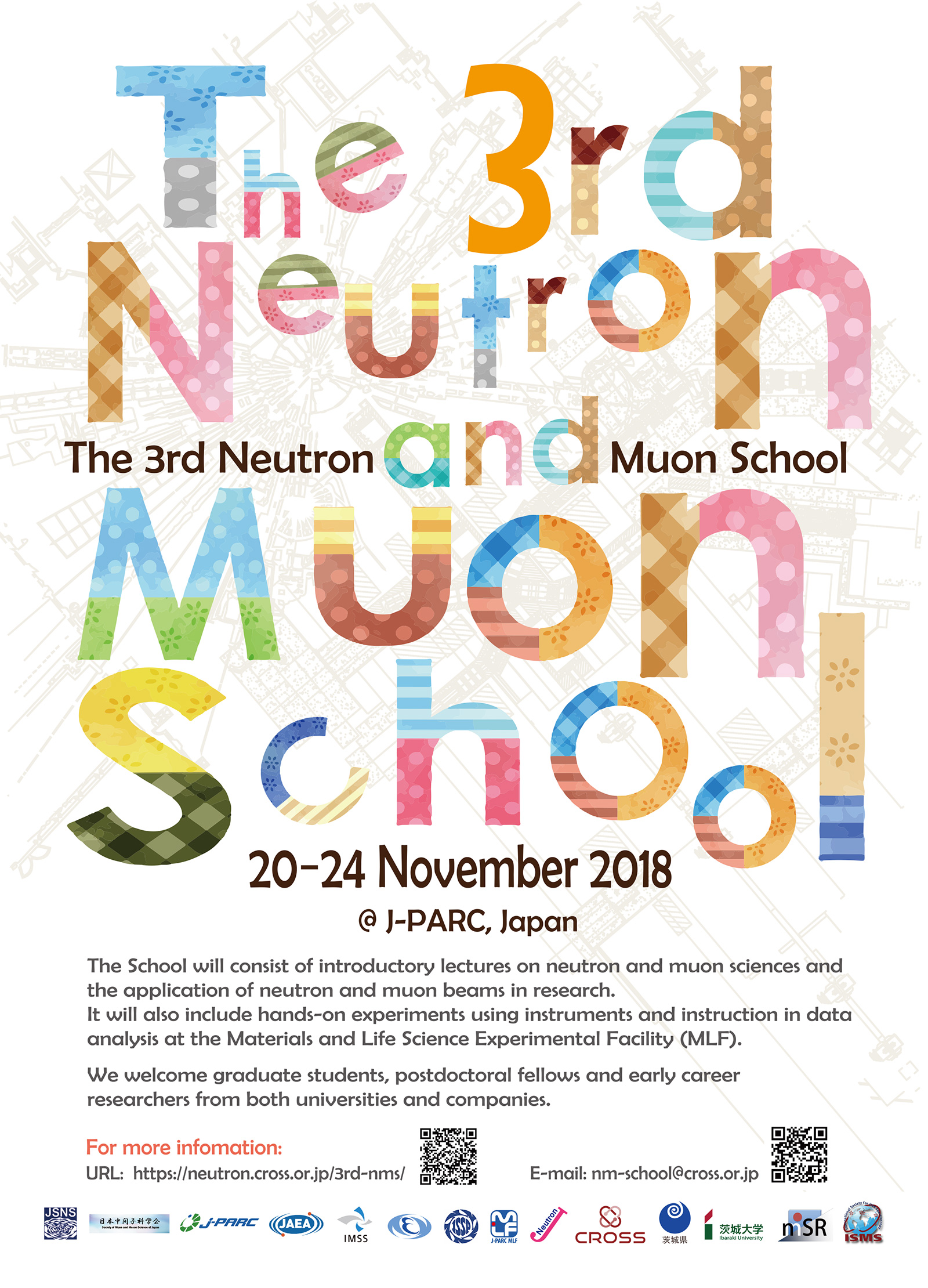 the 3rd neutron and muon school